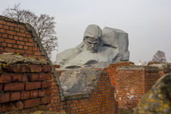 The memorial complex Brest Fortress-Hero. Main Monument. Stock Image