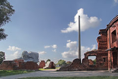 The memorial complex Brest Fortress Royalty Free Stock Photography