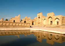 The memorial complex of Chor-Bakr Royalty Free Stock Photography