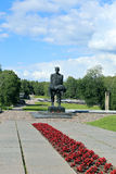 Memorial complex in Khatyn royalty free stock photo