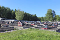 Memorial complex in Khatyn Stock Photography
