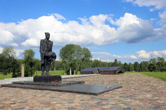Memorial complex in Khatyn Royalty Free Stock Images