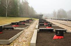 Memorial complex Khatyn, Belorus Stock Image