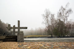 Memorial complex Khatyn, Belorus Royalty Free Stock Image