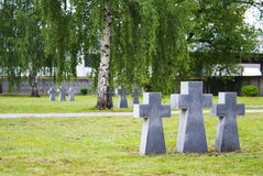 Memorial complex of memory of victims of war and repression, Ryazan. German cemetery in Ryazan - Memorial complex of memory of victims of war and repression Royalty Free Stock Photos