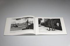 The Berlin Wall 1961-1989 Book, Memorial Cross stock image