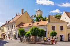 Memorial cross - Szentendre royalty free stock images