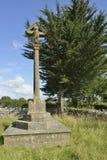 Memorial Cross Stock Photos