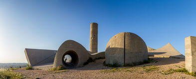 Memorial da brigada de Negev, Israel imagem de stock royalty free