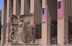 Memorial da guerra foto de stock