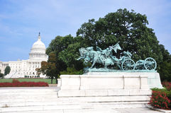 Memorial da guerra civil de Ulysses S. Grant em Washington Foto de Stock