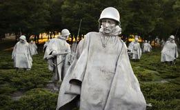 Memorial da Guerra da Coreia Fotos de Stock
