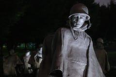 Memorial da Guerra da Coreia Foto de Stock