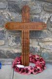 Memorial da guerra de Malvinas - Ilhas Falkland Fotografia de Stock Royalty Free