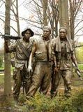 Memorial da guerra de Vietnam imagem de stock