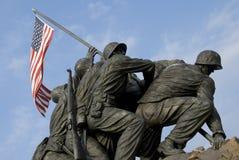 Memorial da guerra do Corpo dos Marines dos E.U. Imagens de Stock Royalty Free