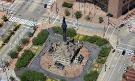 Memorial da guerra na cidade Fotografia de Stock Royalty Free