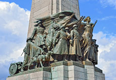 Memorial da infantaria em Bruxelas, Bélgica Imagens de Stock Royalty Free