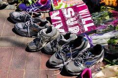 Memorial da maratona de Boston Fotografia de Stock
