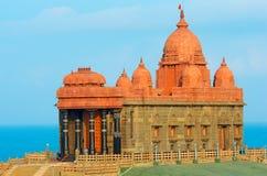Memorial da rocha de Vivekananda em Kanyakumari, Índia Foto de Stock Royalty Free
