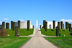 Memorial das forças armadas, arboreto memorável nacional Imagens de Stock Royalty Free