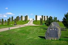 Memorial das forças armadas, arboreto memorável nacional Fotos de Stock