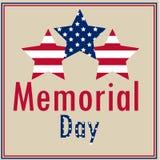 Memorial Day Imágenes de archivo libres de regalías