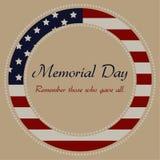 Memorial Day Fotos de Stock
