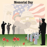 Memorial Day Fotografia de Stock