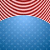 Memorial Day abstract USA flag colors background Royalty Free Stock Photo