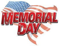 Memorial Day Background Stock Photography