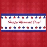 Memorial day background Stock Images