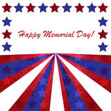 Memorial day background Stock Photos