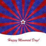 Memorial day background Royalty Free Stock Photo