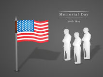 Memorial Day background Stock Photo