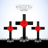 Memorial Day background Royalty Free Stock Photos