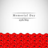 Memorial Day background Stock Image