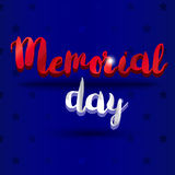 Memorial Day Banner Stock Photography