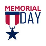 Memorial day banner. Image. Vector illustration design Stock Photography
