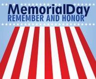 Memorial day card. Vector illustration vector illustration