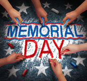Memorial Day Celebration Stock Image