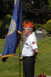MEMORIAL DAY CELEBRATION AT NORMAL HILL CEMETERY Royalty Free Stock Photography