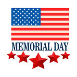Memorial day celebration of U.S.A stock photo