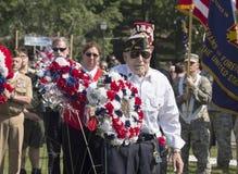 Memorial Day Ceremony Stock Photo