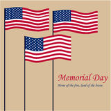 Memorial day Royalty Free Stock Photo