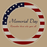 Memorial day Stock Photos