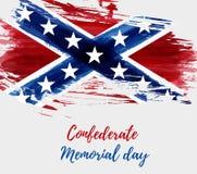 Memorial Day confederado libre illustration