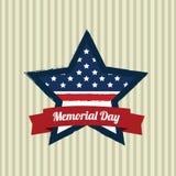 Memorial Day da estrela Fotos de Stock