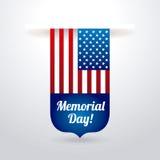 Memorial Day design Stock Images