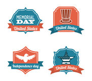 Memorial Day design Royalty Free Stock Images